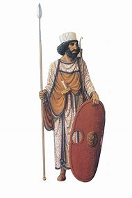 Ancient Persian Warrior Armor
