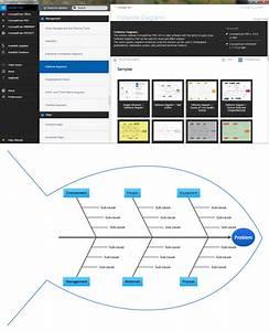 Fishbone Diagram Design Element