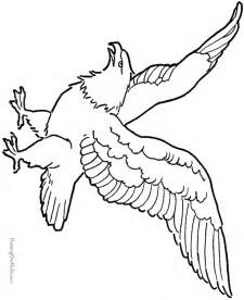 Eagle Drawings Coloring Pages