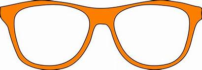 Glasses Orange Clip Svg Clipart Vector Clker