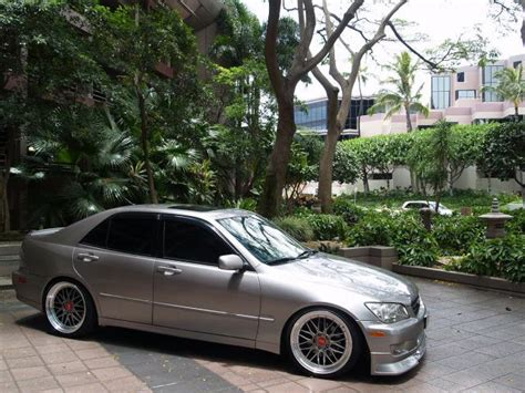autoland 2003 lexus is300 sport design drop rims a c