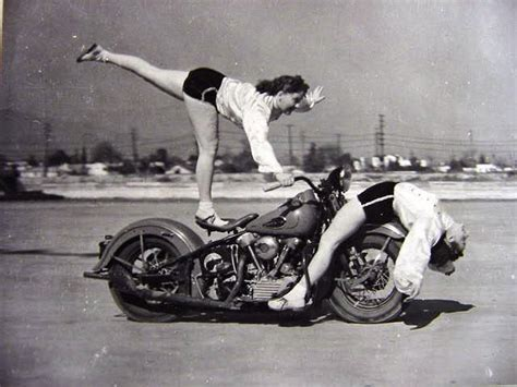 motocross womens amazing vintage photos of early women motorcycle stunters