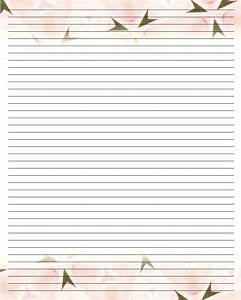 best photos of letter paper with lines free printable With lined letter writing paper