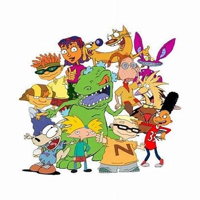 Cartoon 90 Mash Nickelodeon 90s Character Characters