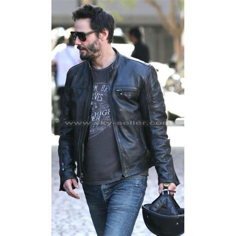 black motorbike jacket keanu reeves krgt 1 black motorcycle leather jacket
