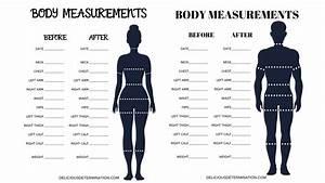 Printable Body Measurement Chart  U2013 Delicious Determination