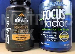 Alpha Brain Vs  Focus Factor