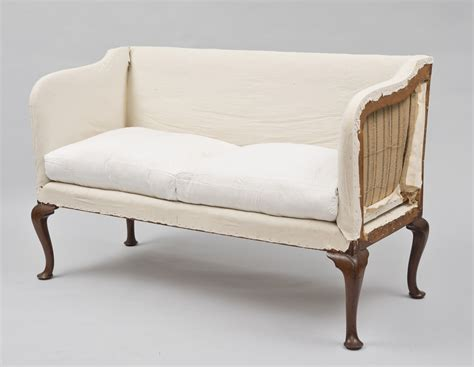 Settee Antique by Georgian Antique Settee Goergian Chippendale Mahogany Settee