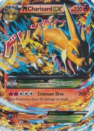 mega charizard   ultra rare xy flashfire singles pokemon