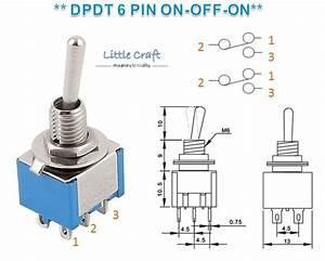 Dpdt 6 Pins 2 Position Miniature Togg  End 7  1  2020 6 15 Pm