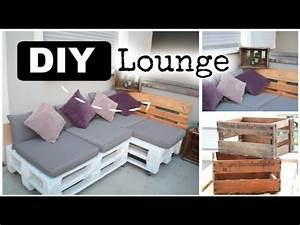 Balkon Lounge Klein : diy lounge aus europaletten ad youtube ~ A.2002-acura-tl-radio.info Haus und Dekorationen