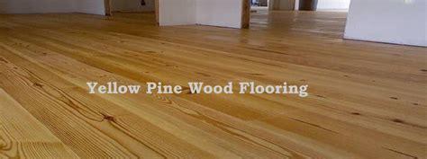 Yellow Pine Wood Flooring   The Flooring Lady