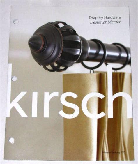 kirsch decorative drapery rod metal accessories