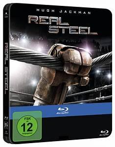 """Hugh Jackman's """"Real Steel"""" is getting a German Steelbook ..."""