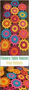 crochet table runner free patterns tutorials