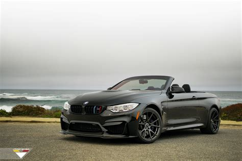 Vorsteiner Gives A Gorgeous Black Bmw M4 Convertible A