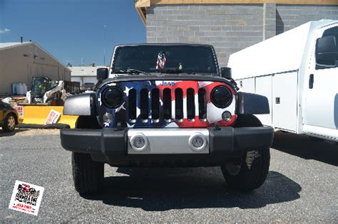 american flag jeep grill jeep grill american bing images