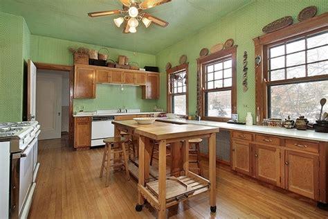 green wood kitchen colores para cocinas 1475