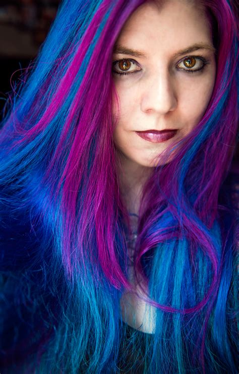 Rainbow Hair And Multi Colored Hair Manic Panic Dye Hard