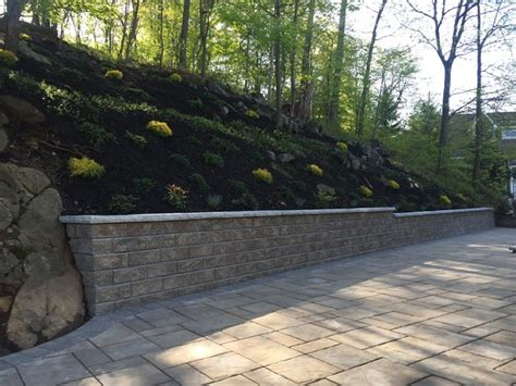 unilock flagstone unilock beacon hill patio and walkway installation with