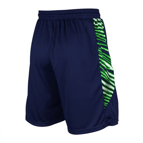 seattle seahawks athletic team shorts navy blueaction