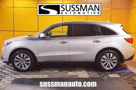 Sussman Acura Jenkintown by Certified Pre Owned 2014 Acura Mdx Tech Pkg Sport Utility