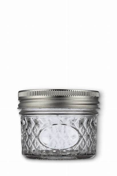 Candle Jar Glass Patterned Packaging