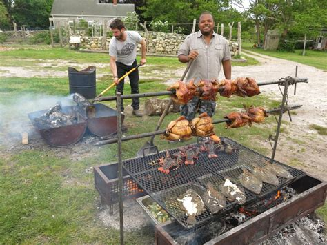 fire cooking open food bbq farm grill outdoor rotisserie pits fun channel pit cook campfire grilling cookingchanneltv recipes smoker barbecue
