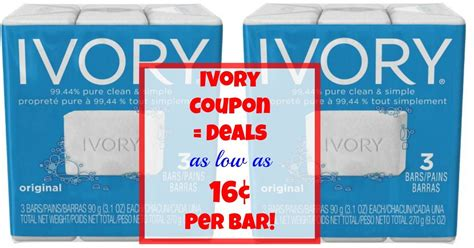 58175 Soap Coupons by Ivory Soap Coupon