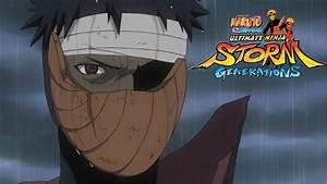 Naruto Generations  Adult Obito Vs Kid Obito