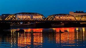 Lower Trenton Bridge Photograph by Louis Dallara