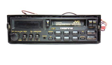 cassette car radio jvc ks rx3300 school vintage deck player car
