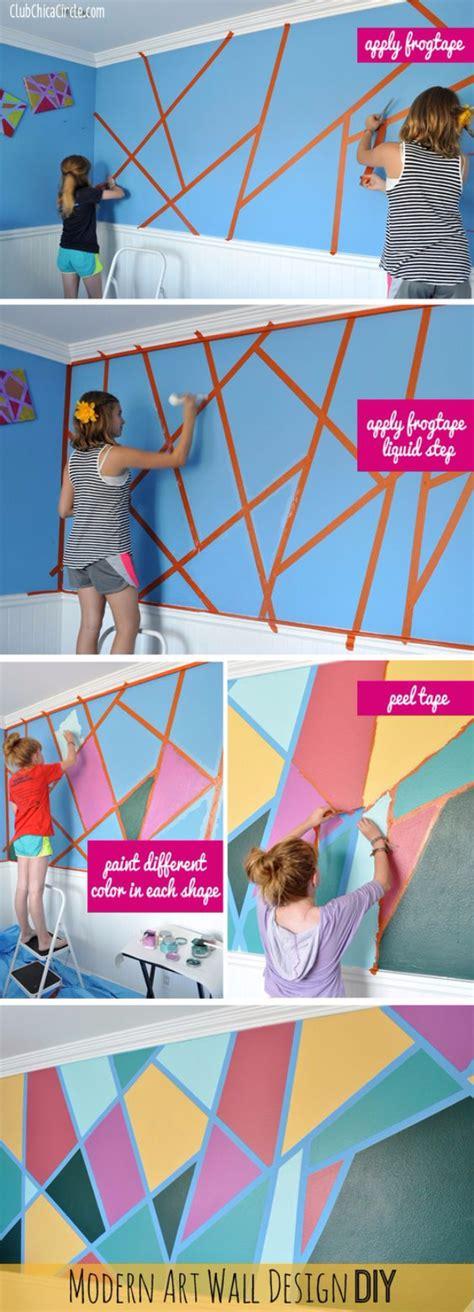 cool ways  paint walls