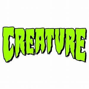 Creature Skateboards Creature Logo Sticker - Creature ...
