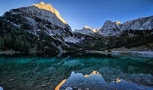 Nature, Lake, Germany, Sunrise, Landscape, Mountain, Water