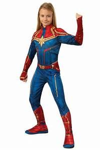 Nwt, Captain, Marvel, Child, Costume, W, Headpiece, Girls, Large, 10