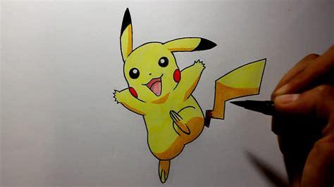 wie zeichnet man pikachu pokemon tutorial youtube