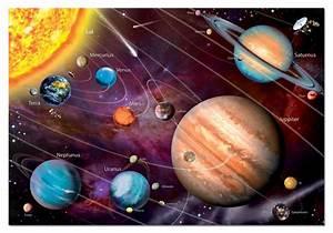 Solar System Glow in the Dark Puzzle | PuzzleWarehouse.com