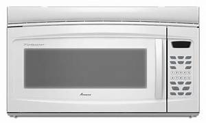 Amana Microwave  Model Amv1160vaw3 Parts And Repair Help