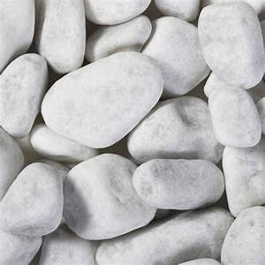 Galet De Decoration : galet blanc carrare 25 40 mm graviers et galet ~ Premium-room.com Idées de Décoration