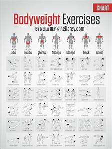 Free Bodyweight Exercise Chart