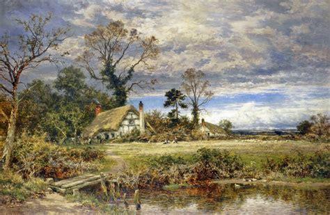 victorian british painting benjamin leader