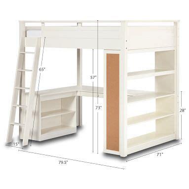 full size charleston storage loft bed with desk full size loft bed with storage and desk for a building
