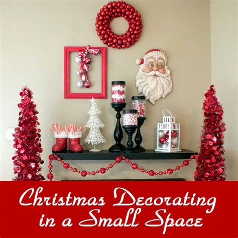 christmas decorating   small space  sisters