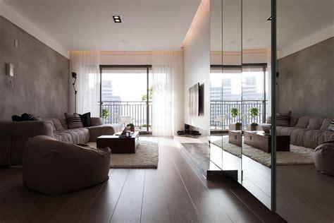 desain interior apartemen comfortable contemporary decor
