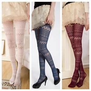 Leggings cute eyelet lace up tights socks fall outfits fashion kawaii girly clothes ...