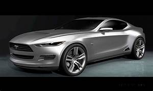 Concept to Reality: 2015 Ford Mustang Sketches That Led To