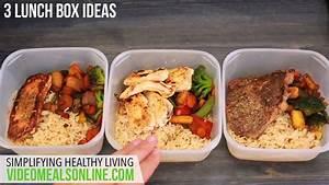 3 lunch box ideas - YouTube
