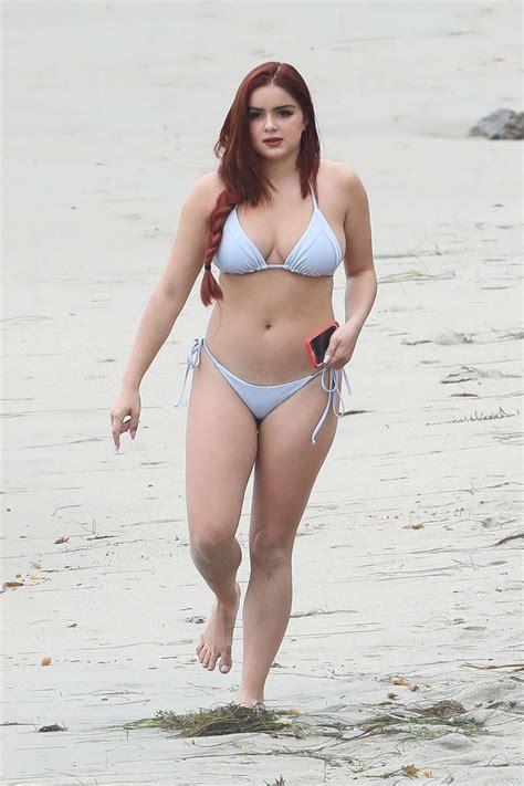 ariel winter swimsuit ariel winter in bikini at the beach in malibu gotceleb