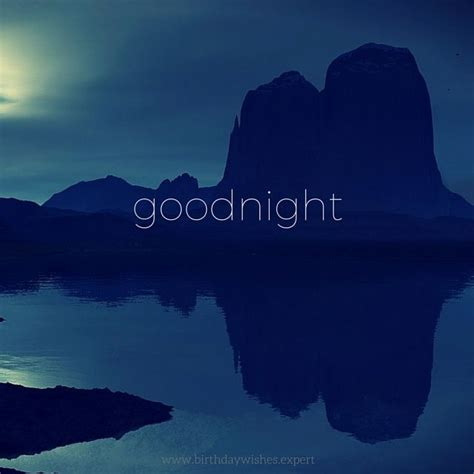 goodnight image quote moon  mountains pictures
